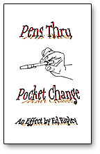 Pen Thru Pocket Change - magic