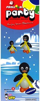 Penguin Balloon Kit - magic
