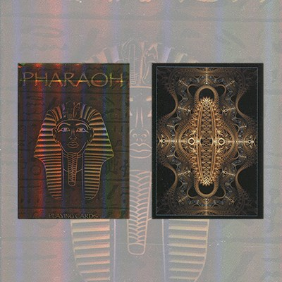 Pharaoh Limited Foil Edition Playing Cards - magic