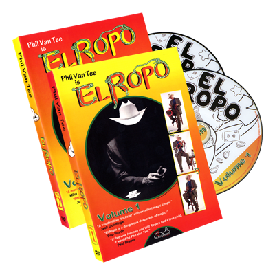 Phil Van Tee is El Ropo (2 DVD Set) - magic