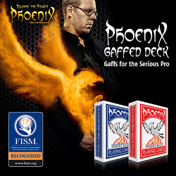 Phoenix Deck - Pro Gaffs Kit - magic