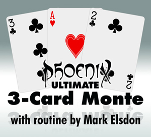 Phoenix Deck - Ultimate 3-Card Monte - magic