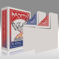 Phoenix Parlour Blank Deck - magic