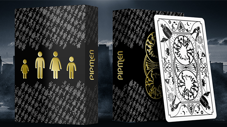 Pipmen: Collector's Edition Playing Cards - magic