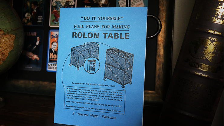 Plans for the Rolon Table - magic
