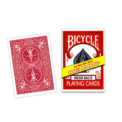 Plastic Bicycle Cards - magic