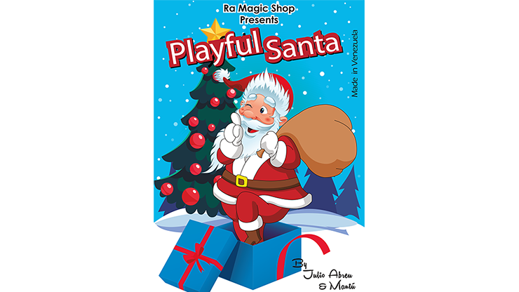 Playful Santa (Large) - magic