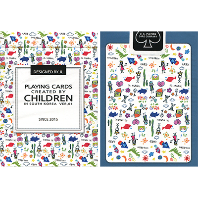 Playing Cards Created by Children - magic