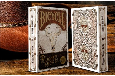 Plugged Nickel Playing Cards - magic