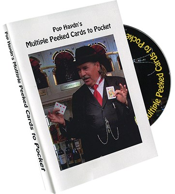 Pop Haydn's Multiple Peeked Cards to Pocket - magic