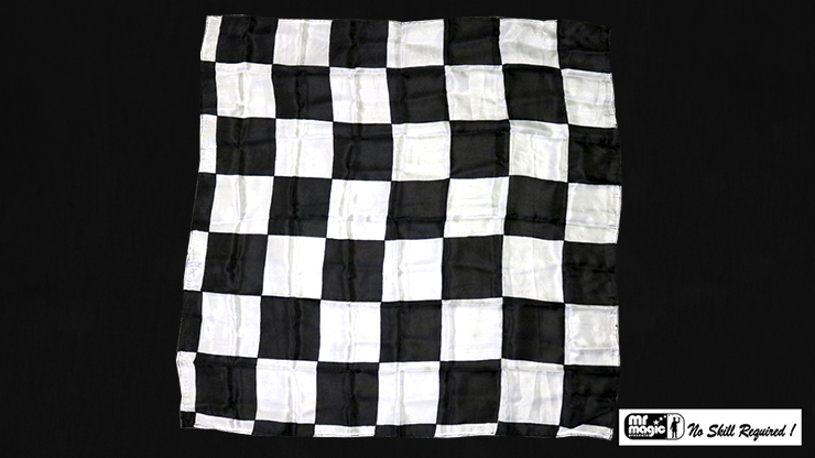 Production Hanky Chess Board Black and White - magic