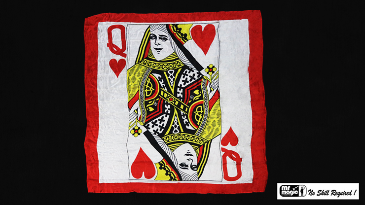 Production Hanky Queen of Hearts - magic