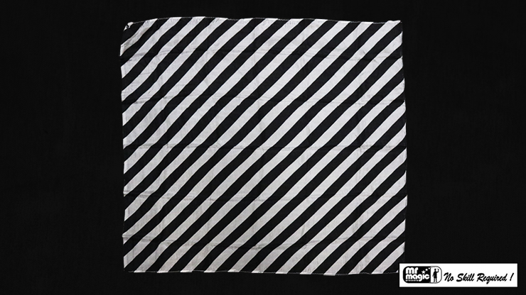 Production Hanky Zebra Black and White - magic