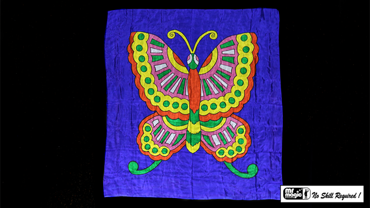 "Production Silk Butterfly 36"" x 36"" - magic"