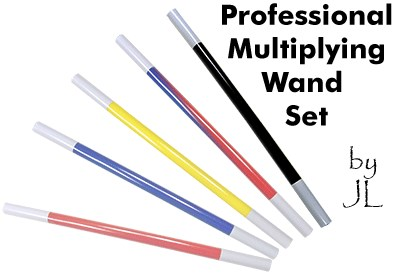 Professional Multiplying Wand Set - magic