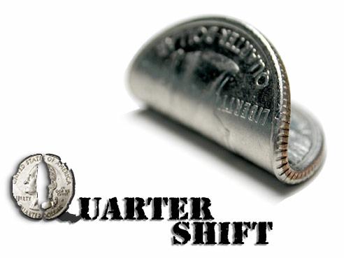 Quarter Shifter trick - magic