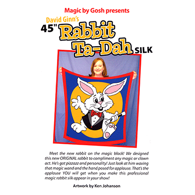"Rabbit Ta-Dah Silk 45"" - magic"