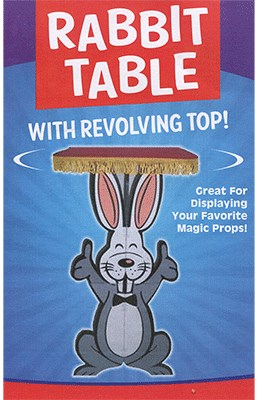Rabbit Table with Revolving Top - magic