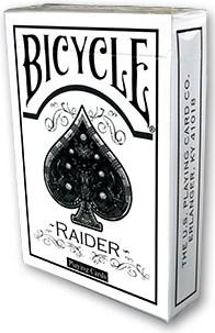 Raider Bicycle Deck White - magic