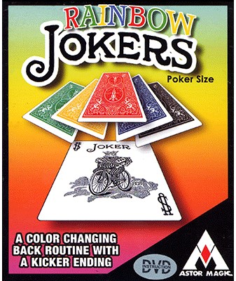 Rainbow Jokers - magic