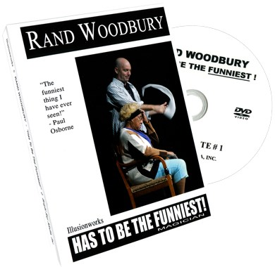 Rand Woodbury Has To Be The Funniest Magician - magic