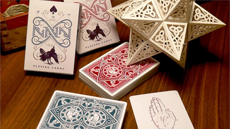Ravn Playing Cards (Green) - magic