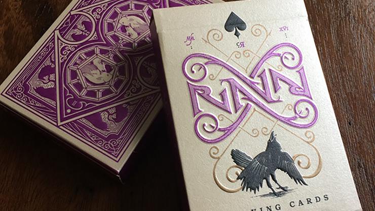 Ravn Purple Haze Playing Cards - magic