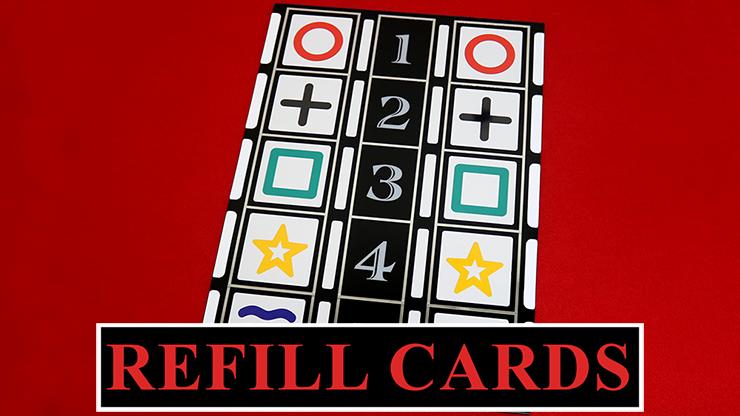 Refill Cards for Astor Mental - magic