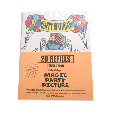 Refill for Magic Party Picture - magic