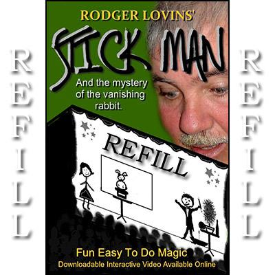 Refill for Stick Man - magic