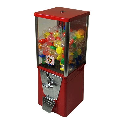 Ring in Gumball Machine - magic