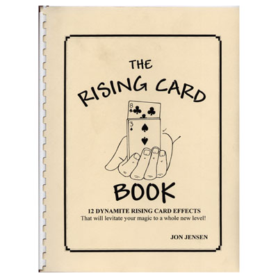 Rising Card book Jon Jensen - magic