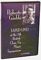 Roberto Giobbi Taped Live - magic