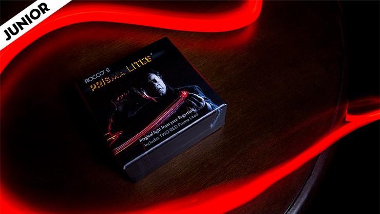 Rocco's SUPER BRIGHT Prisma Lites Pair JUNIOR (Red)  - magic