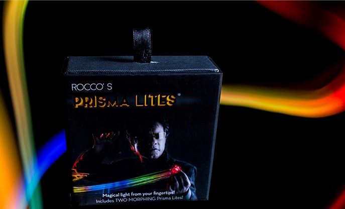 Rocco's SUPER BRIGHT Prisma Lites Pair (Morphing) - magic