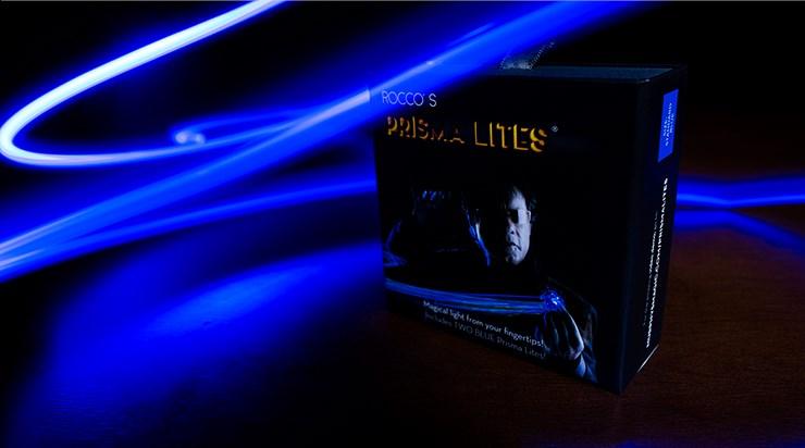 Rocco's SUPER BRIGHT Prisma Lites Pair (Blue)  - magic