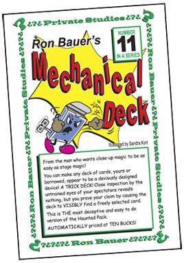 Ron Bauer Series: #11 - Ron Bauer's Mechanical Deck - magic
