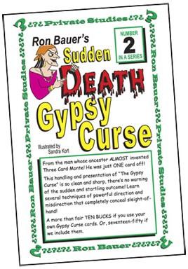 Ron Bauer Series: #2 - Sudden Death Gypsy Curse - magic