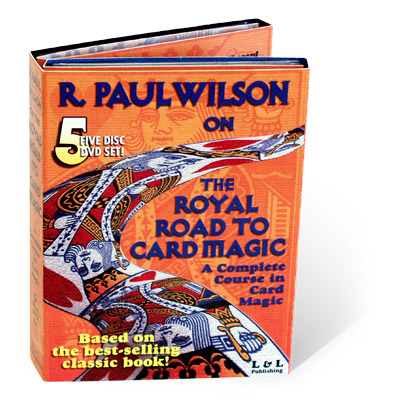 Royal Road To Card Magic DVD - magic
