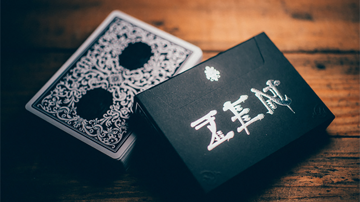 Royal Zen Playing Cards (Black) - magic