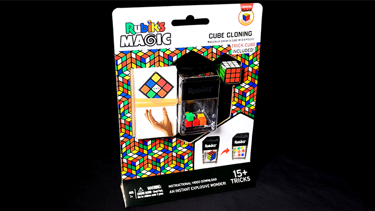 Rubik's Cube Cloning with Trick Cube - magic