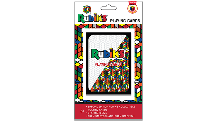 Rubik's Playing Cards - magic