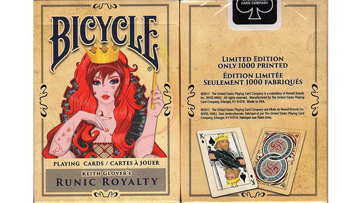 Runic Royalty Bicycle Playing Cards - magic