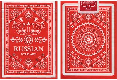 Russian Folk Art Deck - magic