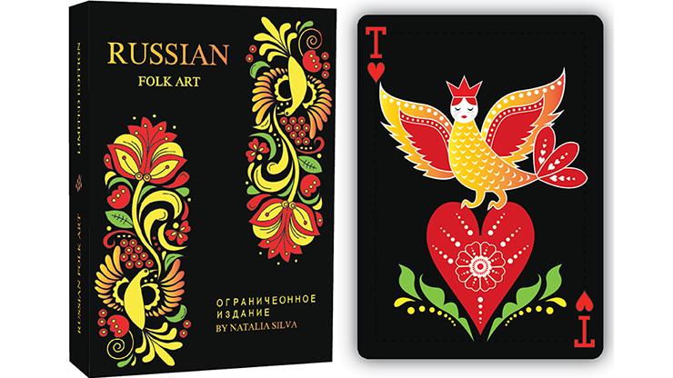 Russian Folk Art Limited Edition  Printed - magic
