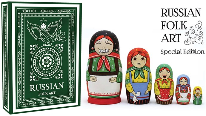 Russian Folk Art Playing Cards (Special Edition) - magic