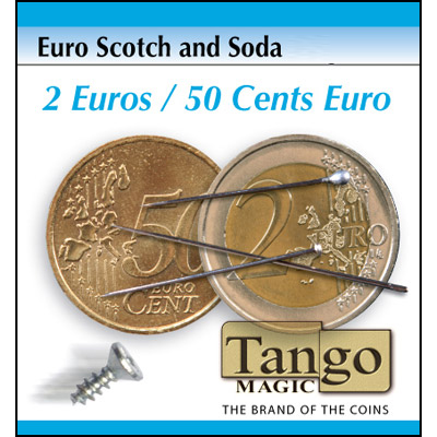 Scotch And Soda - 5 Euro Cents/50 Euro Cents - magic