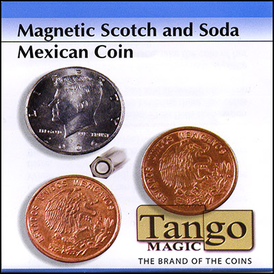 Scotch and Soda - Half Dollar/Mexican Coin (magnetic) - magic