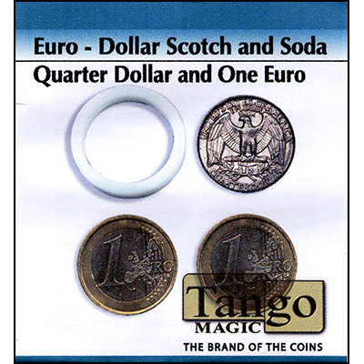 Scotch and Soda - Quarter Dollar/1 Euro - magic