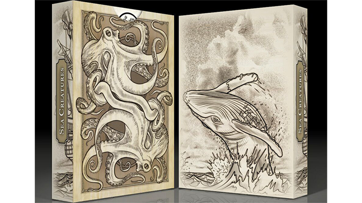 Sea Creatures Deck Playing Cards - magic